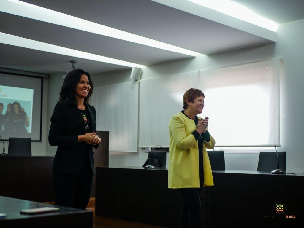 Solange Melo e Francisca Silva