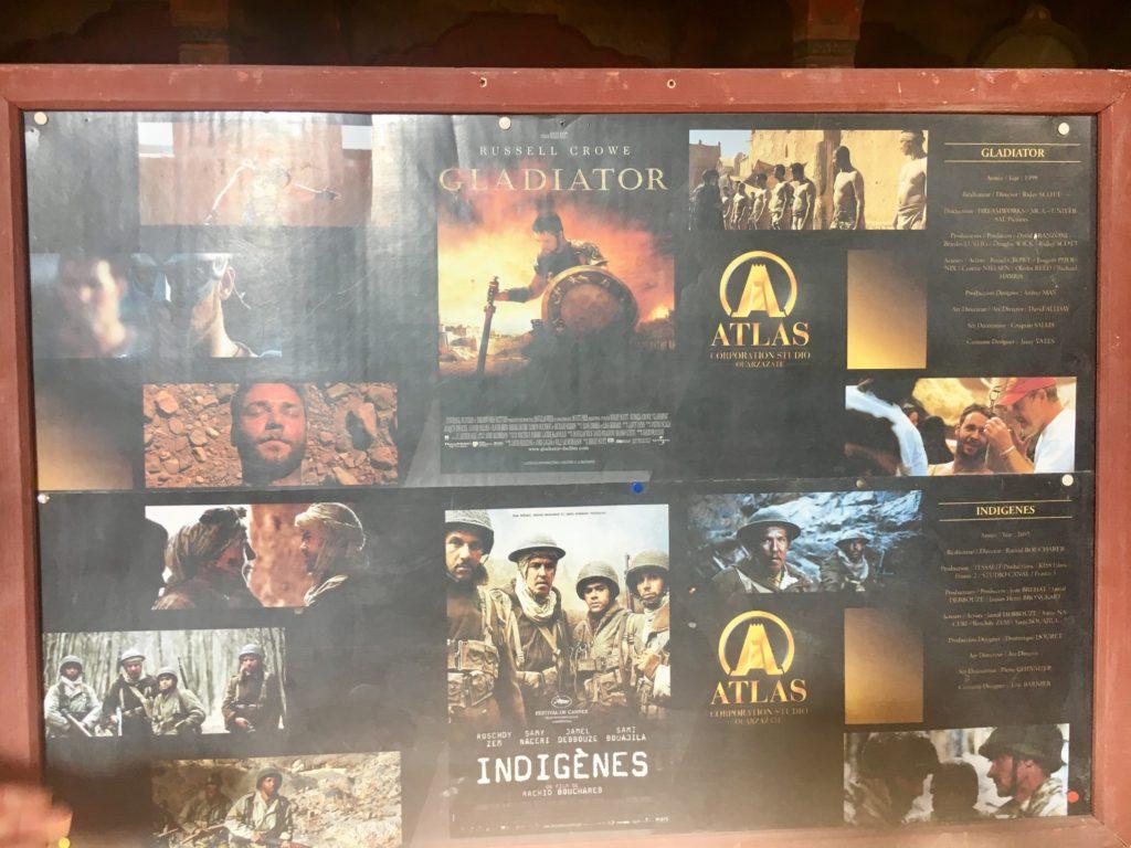 Alguns filmes gravados em Atlas Studios