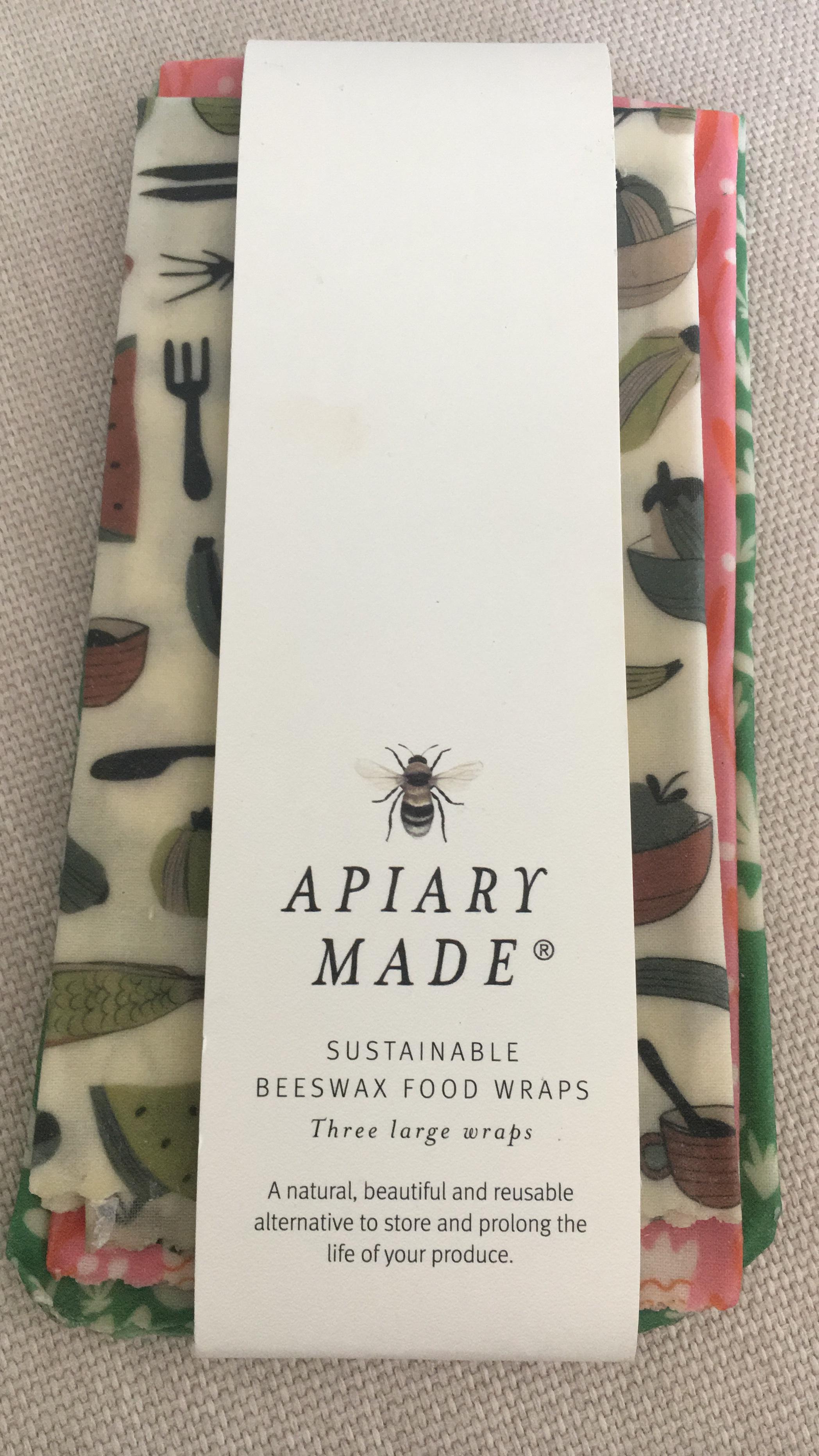 Embalagens da Apiary Made- empresa australiana