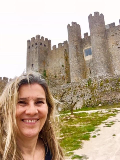 Castelo de Óbidos e eu, Silvia Triboni