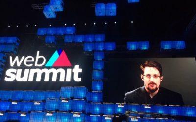 Web Summit 2019 – Edward Snowden alerta!