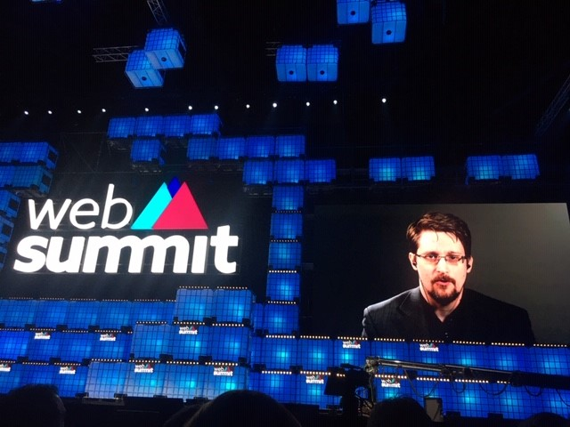 Web Summit 2019 – Edward Snowden alerta!