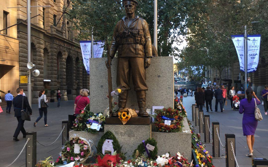 ANZAC Day – Homenagem aos Bravos Soldados, com muita reverência e festa